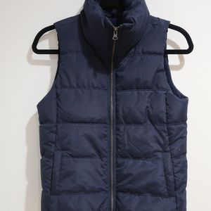 Navy Blue Vest with Fleece lining